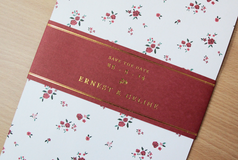 Ernest & Celine Wedding Invitation